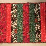 Poinsettia Table Quilt