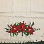 Poinsettia Towel