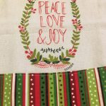Peace, Love and Joy Towel